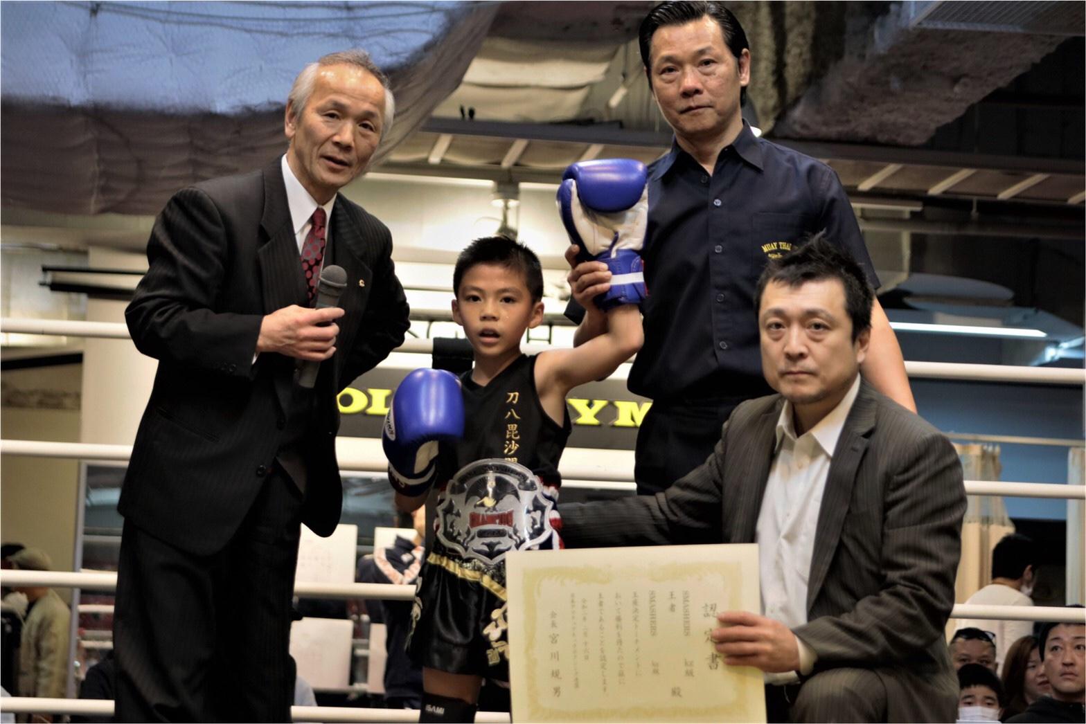 アキラSMASHERS 23kg級トーナメント優勝、2階級制覇